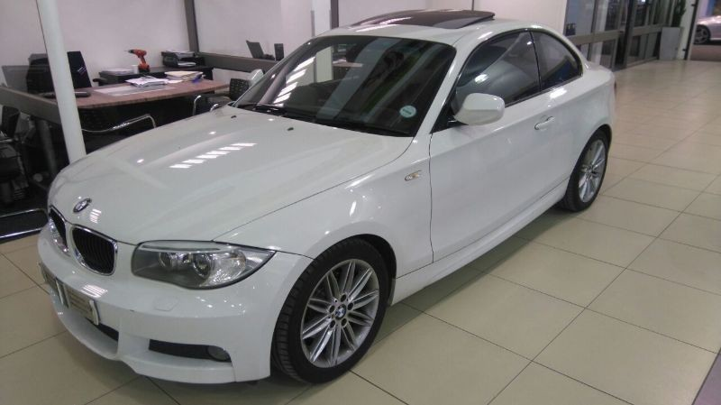 used bmw 1 series 120d coupe m sport auto for sale in. Black Bedroom Furniture Sets. Home Design Ideas