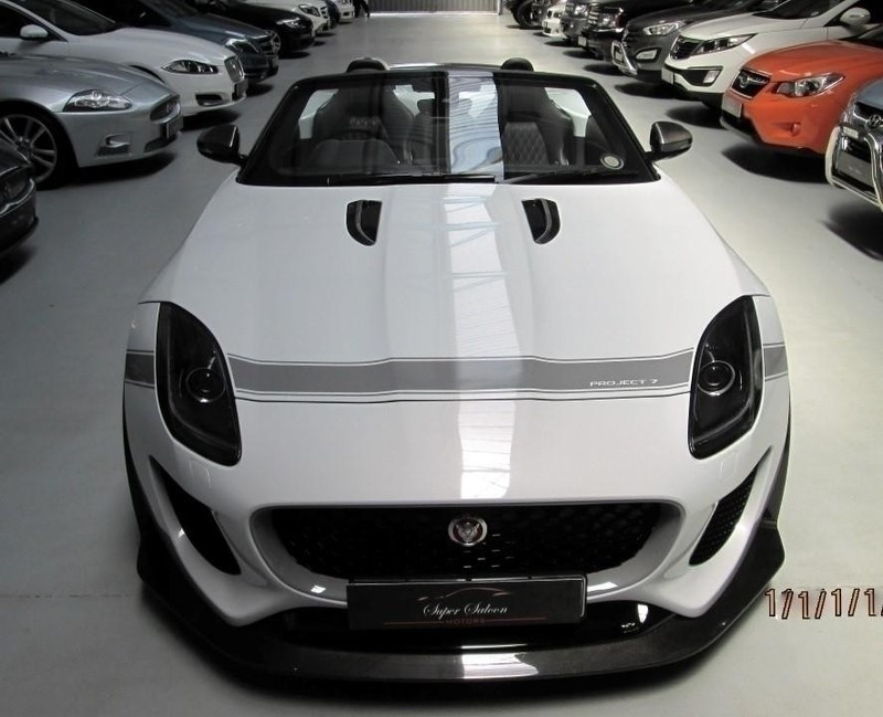 used jaguar f type 5 0 s c project 7 for sale in western cape id 1723653. Black Bedroom Furniture Sets. Home Design Ideas