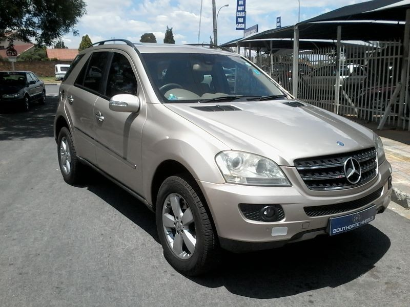 Used mercedes benz m class ml 500 a t for sale in gauteng for 2006 mercedes benz ml350 for sale