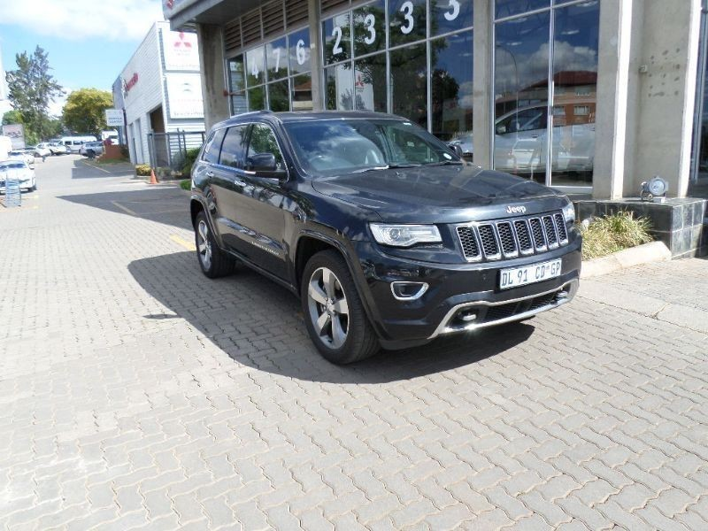 used jeep grand cherokee 3 6 overland for sale in gauteng id 1728877. Black Bedroom Furniture Sets. Home Design Ideas