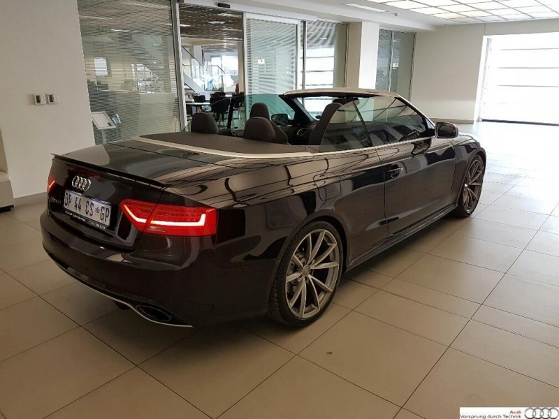 used audi rs5 quattro cab stronic for sale in gauteng id 1732687. Black Bedroom Furniture Sets. Home Design Ideas