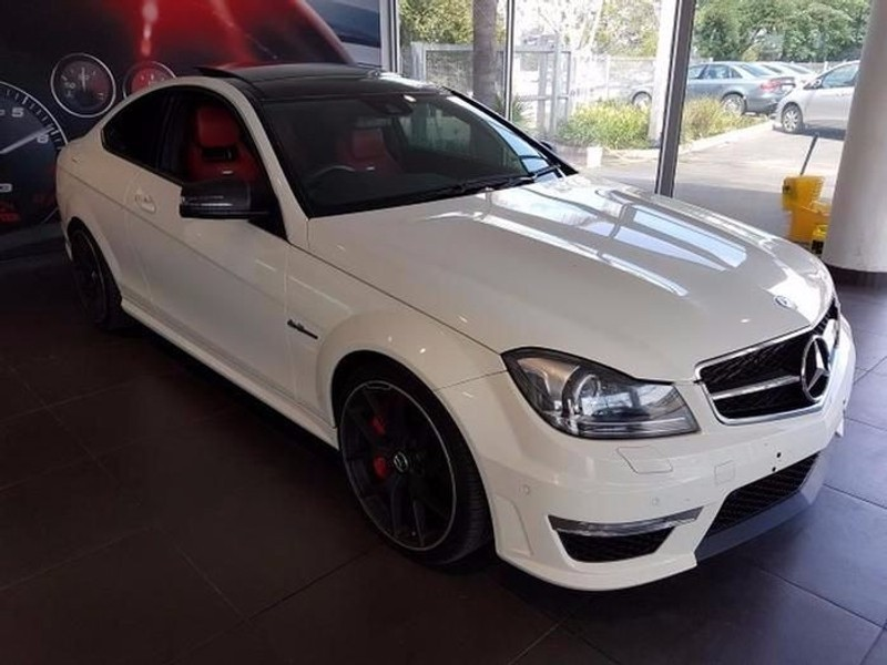 used mercedes benz c class amg coupe c63 for sale in gauteng id 1734364. Black Bedroom Furniture Sets. Home Design Ideas