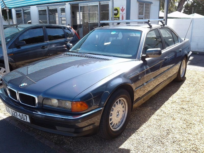 used bmw 7 series 740i a t e38 for sale in western cape id 1735848. Black Bedroom Furniture Sets. Home Design Ideas