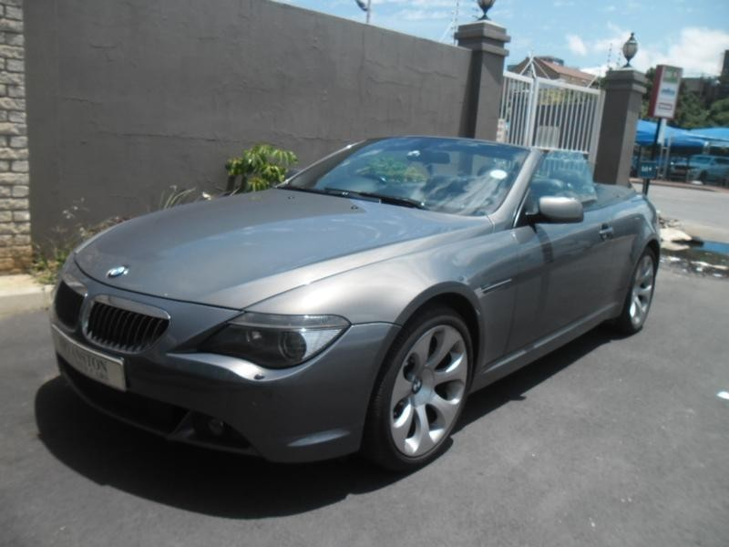 used bmw 6 series 650i convertible a t e64 for sale in gauteng id 1736618. Black Bedroom Furniture Sets. Home Design Ideas