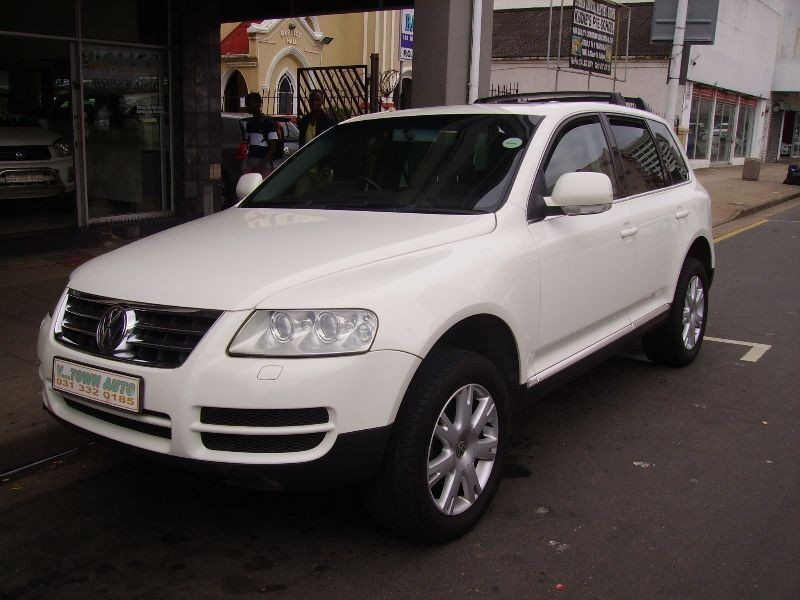 used volkswagen touareg r5 2 5 tdi tip for sale in kwazulu natal id 1738171. Black Bedroom Furniture Sets. Home Design Ideas