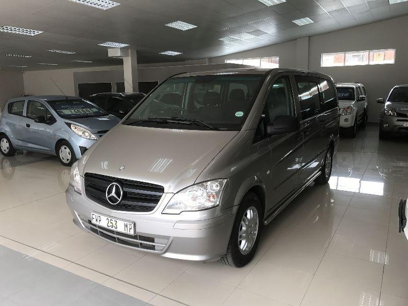 Used mercedes benz vito 116 cdi shuttle auto for sale in for Mercedes benz shuttle