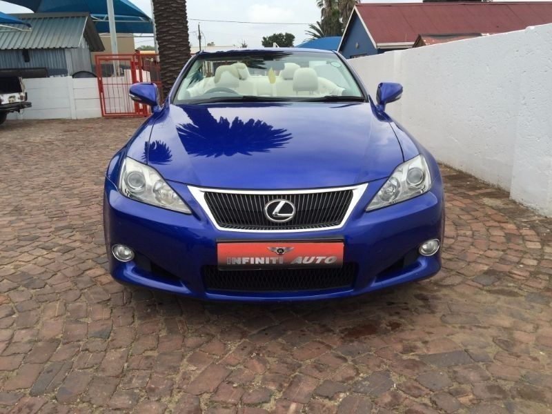 used lexus is 250 convertible auto for sale in gauteng id 1743405. Black Bedroom Furniture Sets. Home Design Ideas