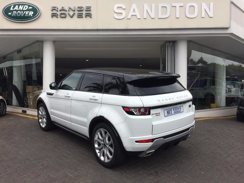 used land rover evoque 2013 range rover evogue sd4 dynamic for sale in gauteng id. Black Bedroom Furniture Sets. Home Design Ideas