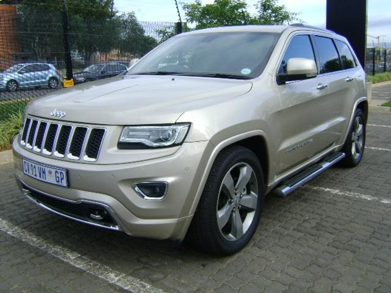 used jeep grand cherokee 3 6 overland for sale in gauteng id 1746448. Black Bedroom Furniture Sets. Home Design Ideas