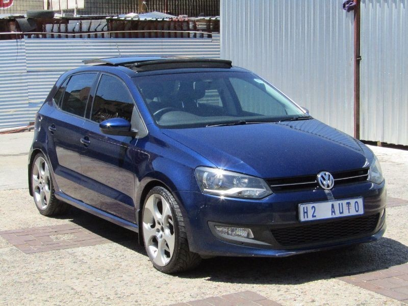 used volkswagen polo 1 4 comfortline 5dr panoramic sunroof. Black Bedroom Furniture Sets. Home Design Ideas