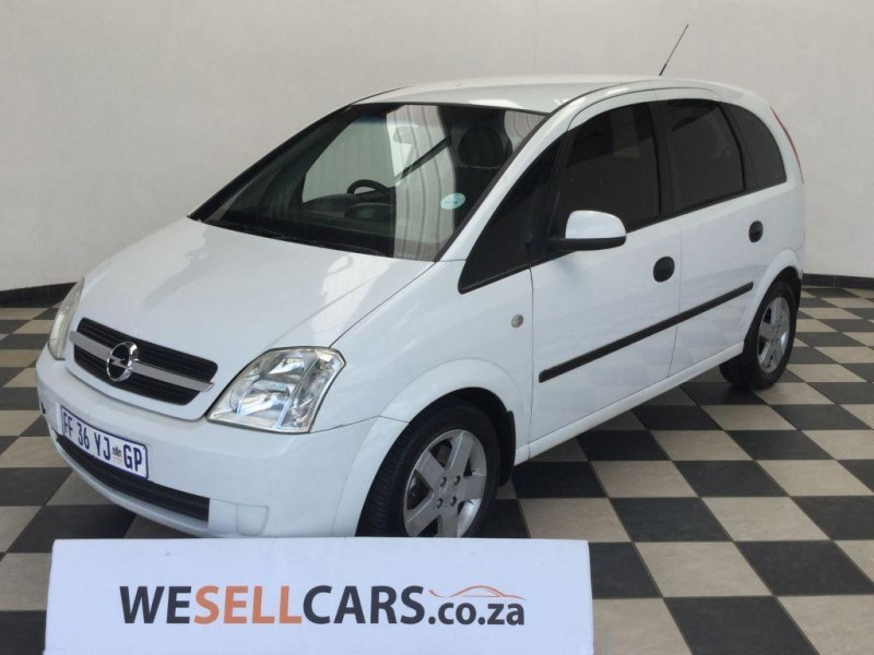 used opel meriva 1 6 comfort for sale in gauteng id 1752978. Black Bedroom Furniture Sets. Home Design Ideas