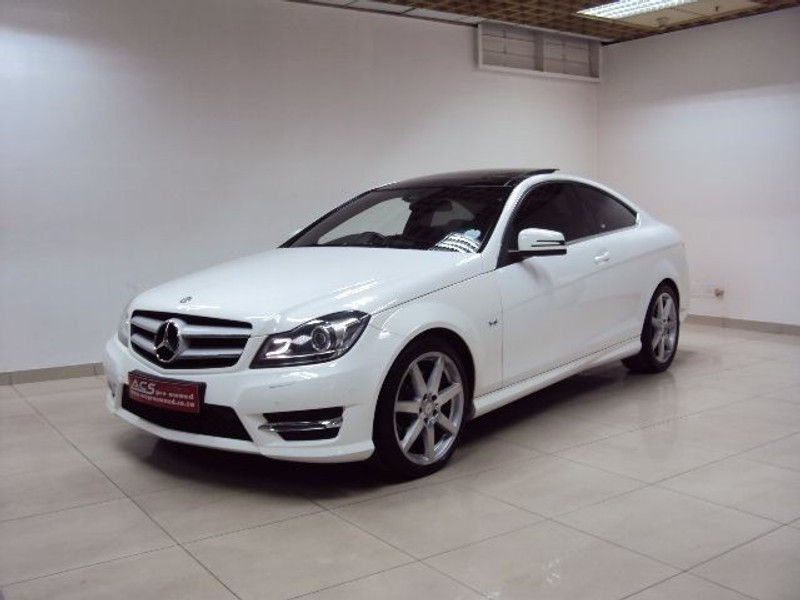 Used mercedes benz c class c350 coupe amg 7g tronic for Mercedes benz panoramic roof
