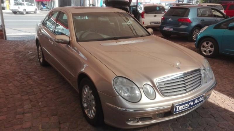 Used Mercedes Benz E Class E240 V6 Elegance A T For Sale