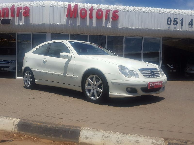 Used mercedes benz c class c230 v6 coupe for sale in free for Mercedes benz v6