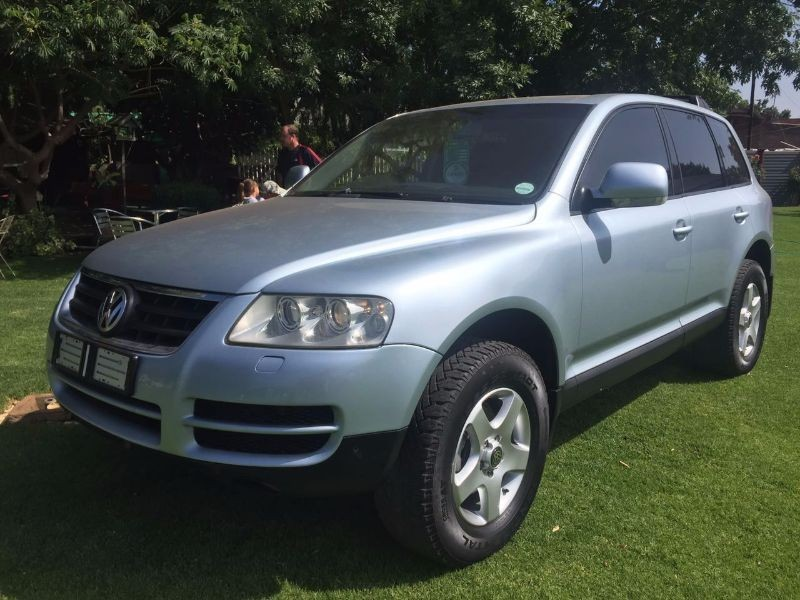 used volkswagen touareg r5 2 5 tdi for sale in gauteng id 1761935. Black Bedroom Furniture Sets. Home Design Ideas