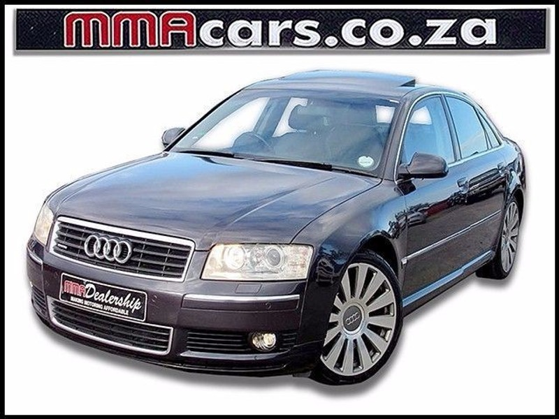 used audi a8 4 2 quattro a t for sale in kwazulu natal. Black Bedroom Furniture Sets. Home Design Ideas