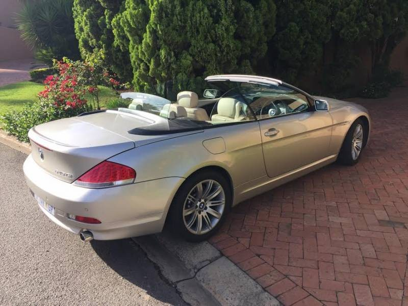 used bmw 6 series 645ci convertible a t e64 for sale in gauteng id 1763602. Black Bedroom Furniture Sets. Home Design Ideas