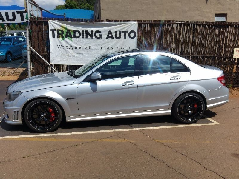 used mercedes benz c class c63 amg for sale in gauteng id 1766181. Black Bedroom Furniture Sets. Home Design Ideas