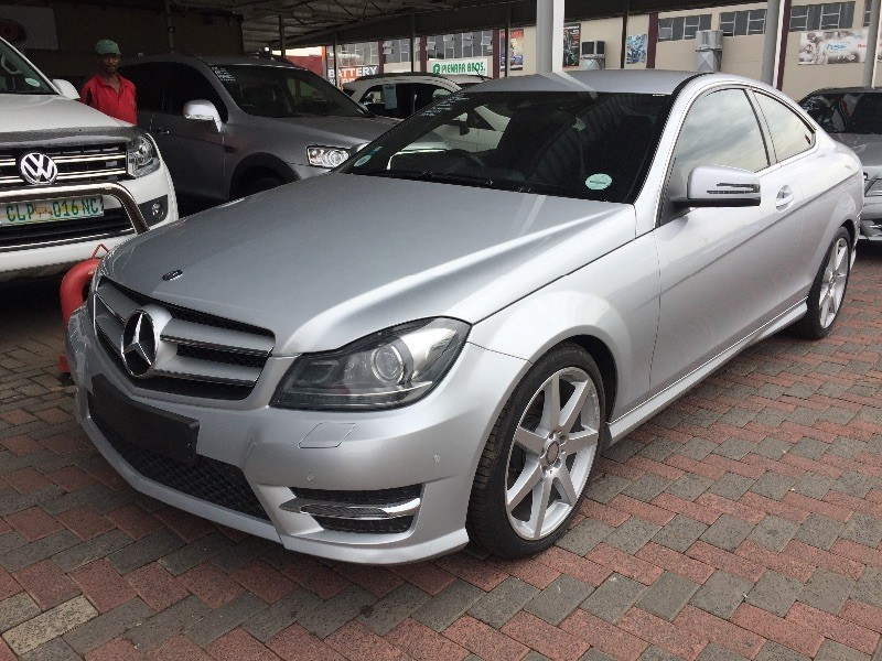 Used mercedes benz c class c250 cdi be amg pack coupe a t for Mercedes benz c250 coupe for sale