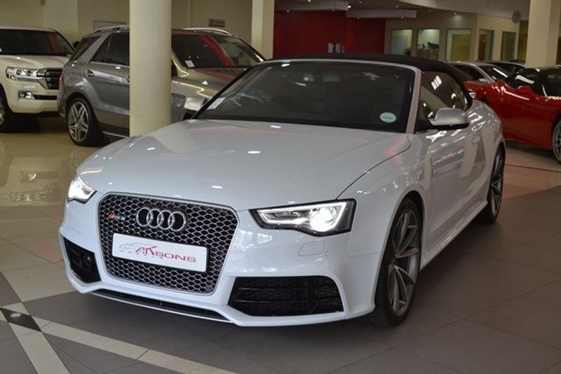 used audi rs5 quattro cab stronic for sale in kwazulu natal id 1766710. Black Bedroom Furniture Sets. Home Design Ideas