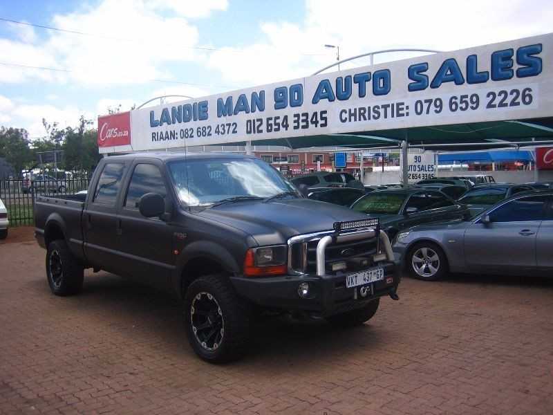 Used Ford F Series F250 4 2l Xlt Double Cab Turbo Diesel