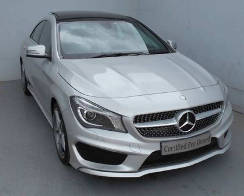 Used mercedes benz cla class 220d amg auto for sale in for Used mercedes benz cla class for sale