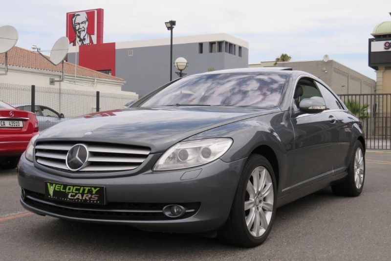 Used mercedes benz cl class cl 500 for sale in western for 2007 mercedes benz cl550 for sale