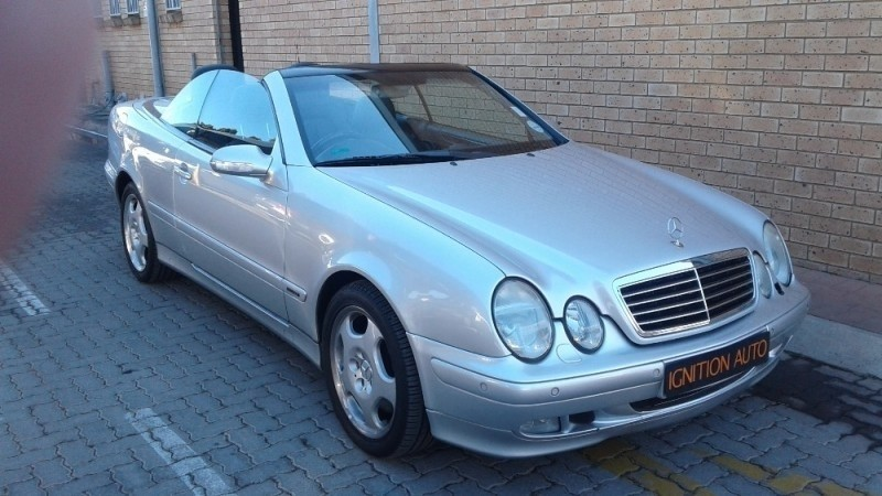 used mercedes benz clk class clk 430 a t cabriolet for sale in gauteng id 1774581. Black Bedroom Furniture Sets. Home Design Ideas