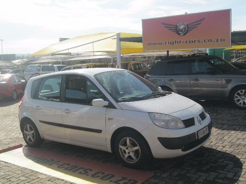 used renault scenic 1 6 expression for sale in gauteng id 1775793. Black Bedroom Furniture Sets. Home Design Ideas