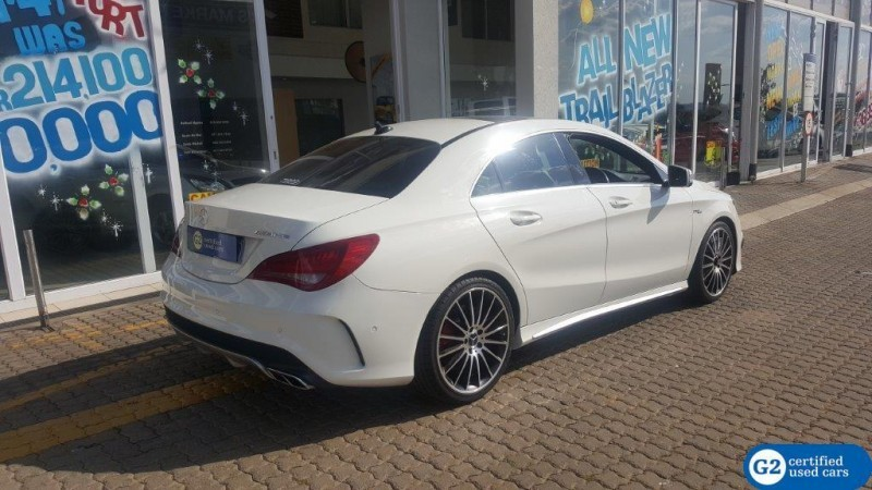 used mercedes benz cla class cla45 amg for sale in gauteng id 1776393. Black Bedroom Furniture Sets. Home Design Ideas