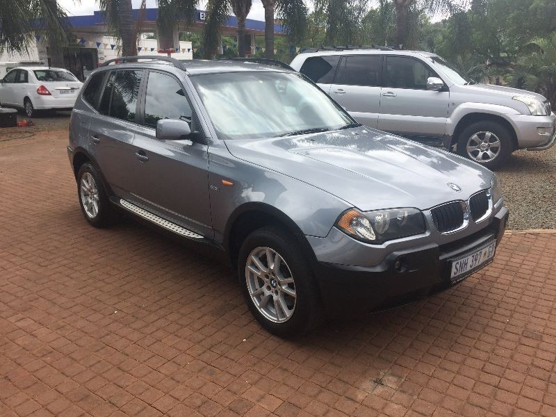 used bmw x3 a t for sale in gauteng id 1778951. Black Bedroom Furniture Sets. Home Design Ideas
