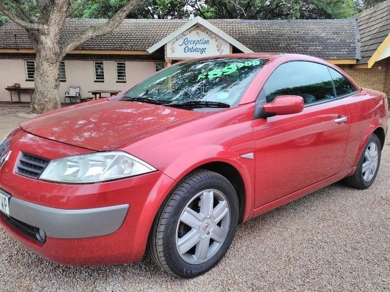 used renault megane 1 6 convertible for sale in gauteng id 1779121. Black Bedroom Furniture Sets. Home Design Ideas