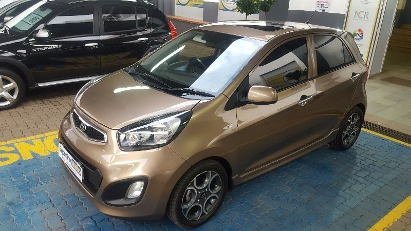 used kia picanto 1 2 ex with sunroof for sale in gauteng. Black Bedroom Furniture Sets. Home Design Ideas