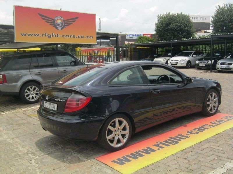 Used Mercedes Benz C Class C 230k Coupe A T For Sale In