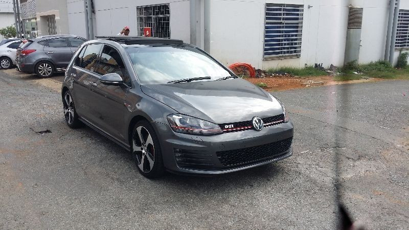used volkswagen golf 1 8 gti golf 7 sun roof automatic. Black Bedroom Furniture Sets. Home Design Ideas