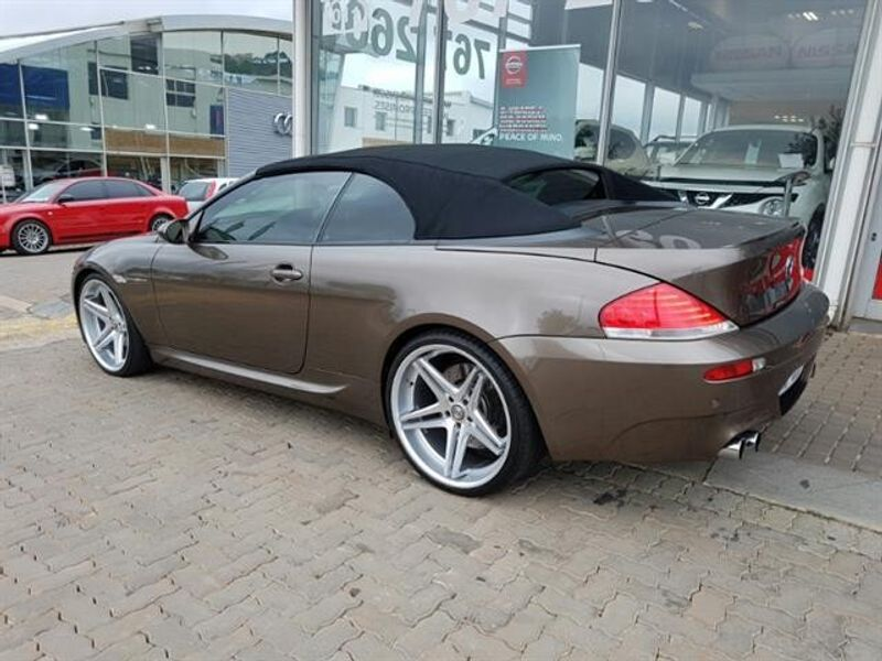 used bmw m6 convertible e64 for sale in gauteng id 1784602. Black Bedroom Furniture Sets. Home Design Ideas