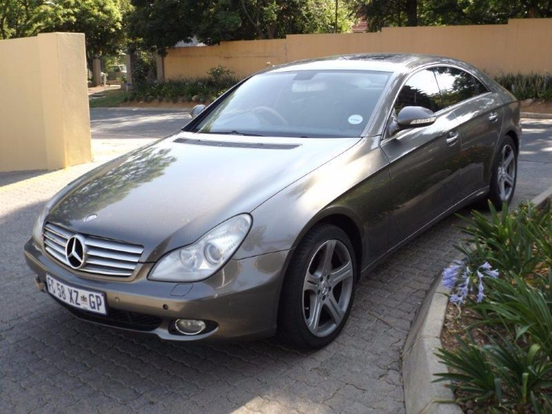 Used mercedes benz cls class cls 500 for sale in gauteng for Mercedes benz cls sale