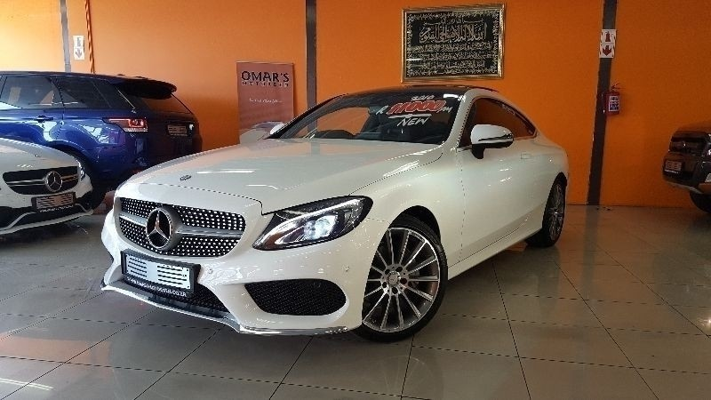 omars motor den 2017 mercedes benz c class c200 amg coupe auto. Black Bedroom Furniture Sets. Home Design Ideas