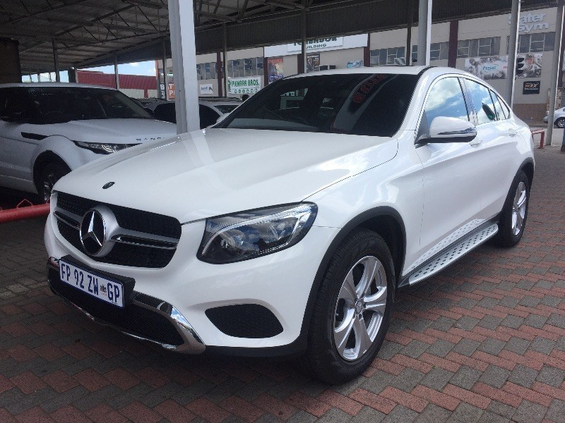 used mercedes benz glc 250d coupe 4 matic for sale in gauteng id 1803113. Black Bedroom Furniture Sets. Home Design Ideas
