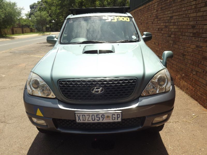 used hyundai terracan 2 9 crdi a t for sale in gauteng id 1808137. Black Bedroom Furniture Sets. Home Design Ideas