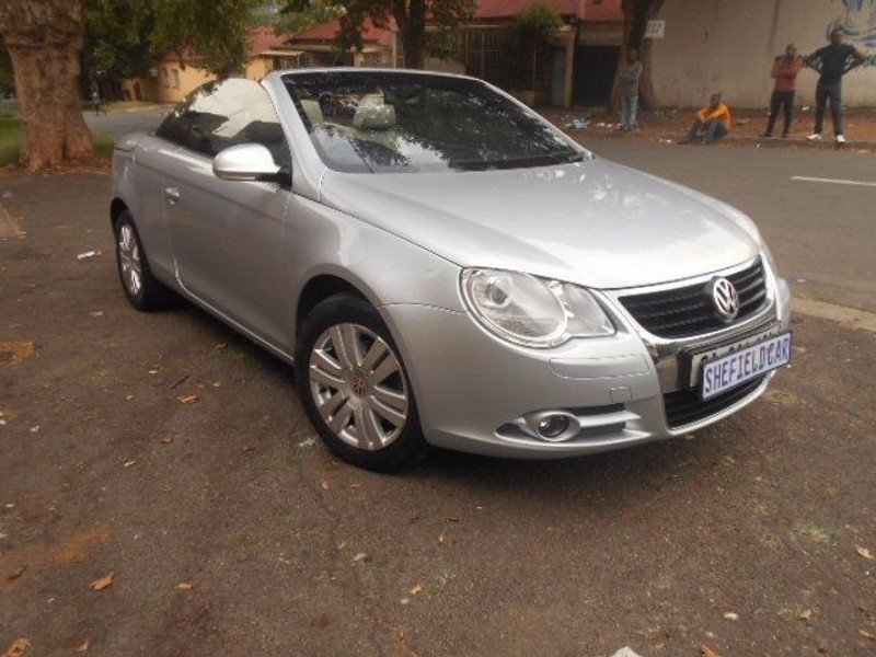 used volkswagen eos 2 0 fsi for sale in gauteng id 1808367. Black Bedroom Furniture Sets. Home Design Ideas
