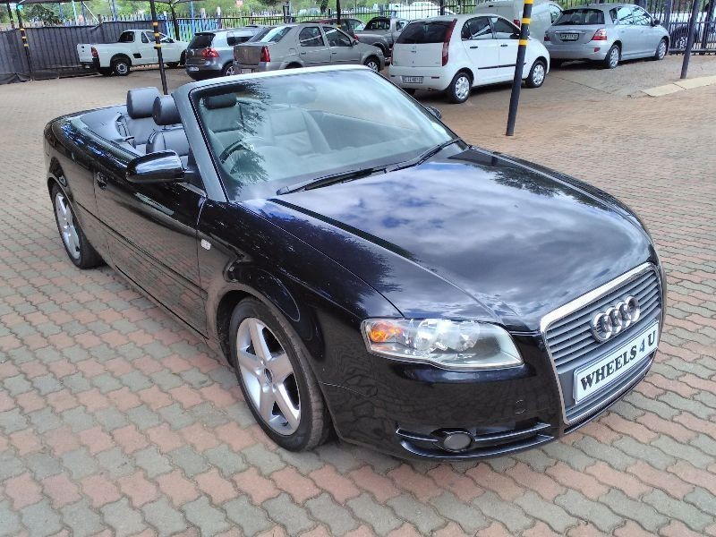 used audi a4 audi a4 2 0 convertible finance available. Black Bedroom Furniture Sets. Home Design Ideas