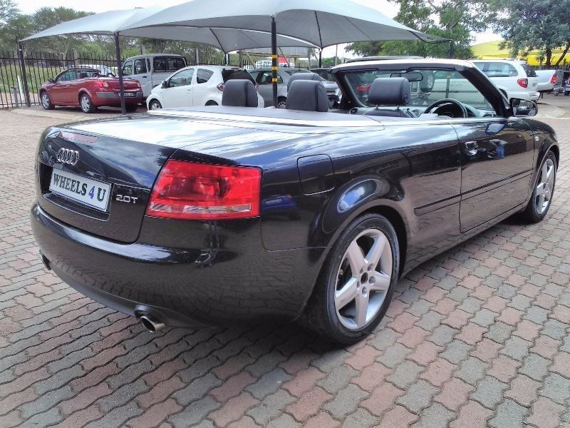 used audi a4 audi a4 2 0 convertible for sale in gauteng id 1810714. Black Bedroom Furniture Sets. Home Design Ideas