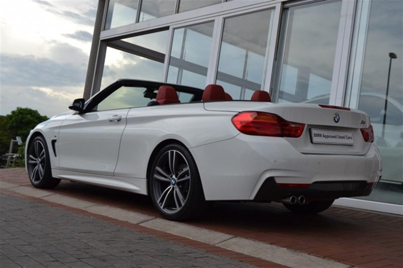 Used Bmw 4 Series 428i Convertible M Sport Auto For Sale