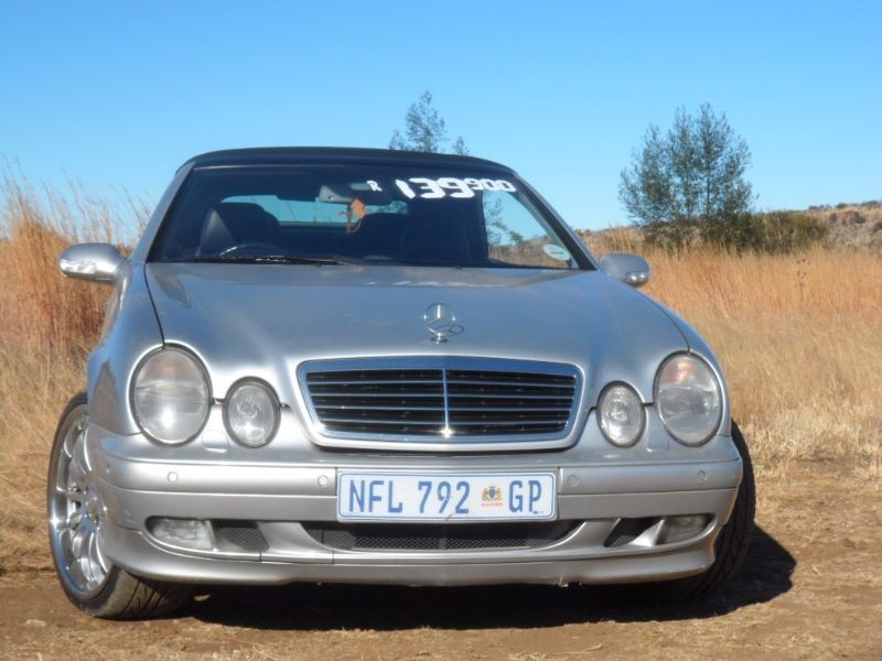 used mercedes benz clk class clk 430 a t cabriolet for sale in gauteng id 1814933. Black Bedroom Furniture Sets. Home Design Ideas
