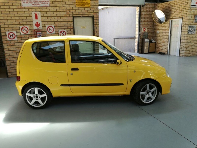 used fiat seicento sporting for sale in free state cars. Black Bedroom Furniture Sets. Home Design Ideas