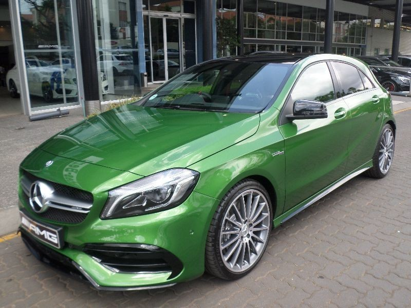 Used mercedes benz a class amg a45 4matic for sale in for Mercedes benz pretoria