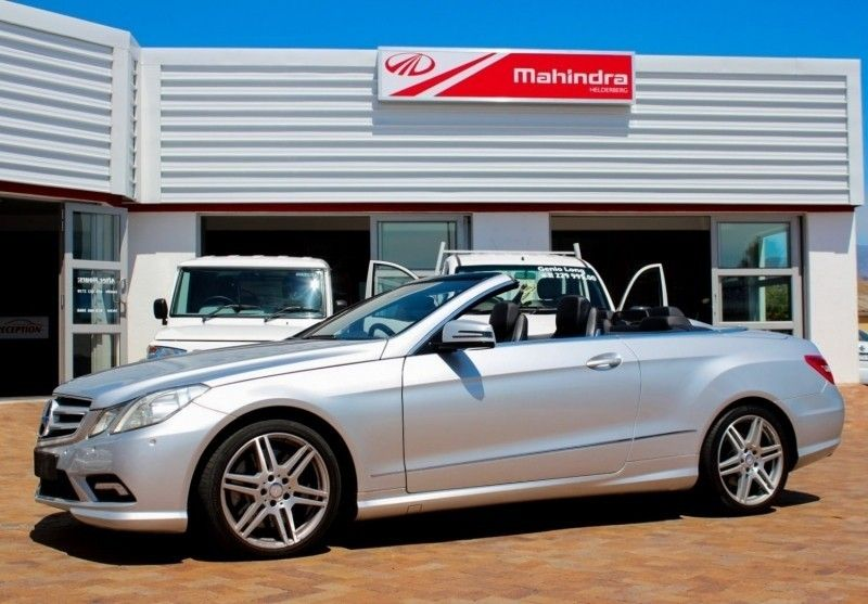 used mercedes benz e class e 500 cabriolet for sale in western cape id 1820610. Black Bedroom Furniture Sets. Home Design Ideas