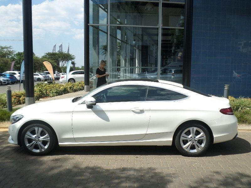 Used mercedes benz c class c200 coupe auto for sale in for Mercedes benz sales jobs