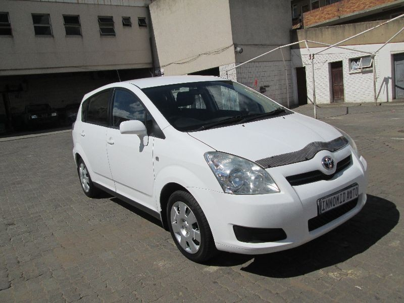 used toyota corolla verso 1800 for sale in gauteng id 1832022. Black Bedroom Furniture Sets. Home Design Ideas